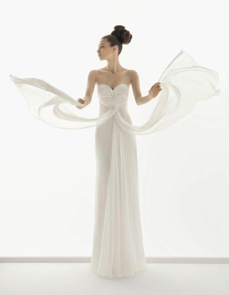 Mariage - New White/ivory Wedding Dress Bridal Gowns Custom Size 2-4-6-8-10-12-14-16-18