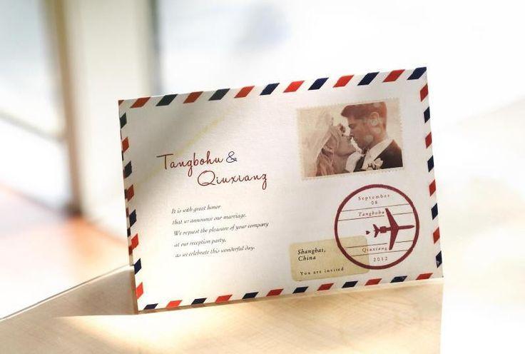 Seal And Send Wedding Invitations Diy: Custom Wedding Invitation Cards With Photo Free Envelopes