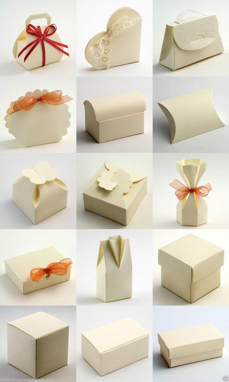 Wedding Favor Boxes Trinidad : Best quality diy ivory silk embossed wedding favour favor