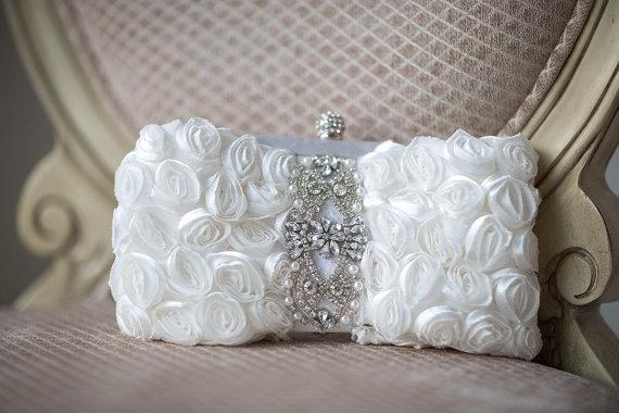 Wedding Clutch Bridal Purse Handbag New