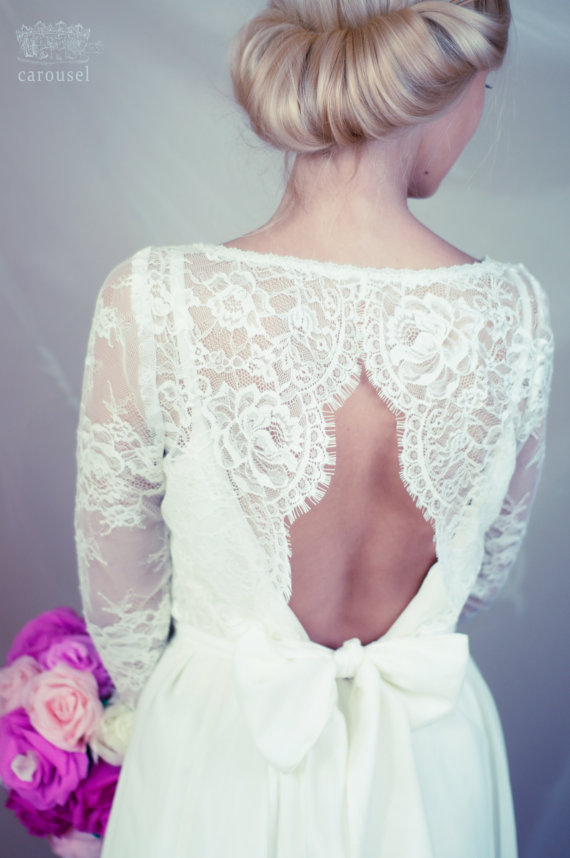 Lace Wedding Top Separate Amelie New
