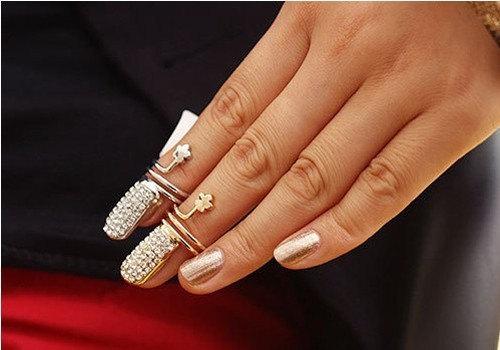 HochzeitsNail Designs Gold Nail Ring Nail Ring 2225548 Weddbook