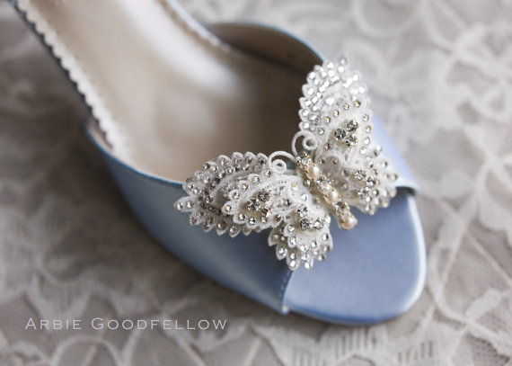 Butterfly Wedding Shoes By Arbie Goodfellow