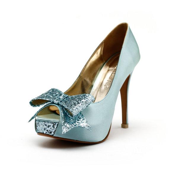 Mariage - Cranberry -  Tiffany Blue Wedding Heels