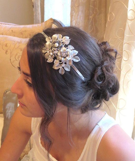 Mariage - Bridal headband -  Bridal headpiece
