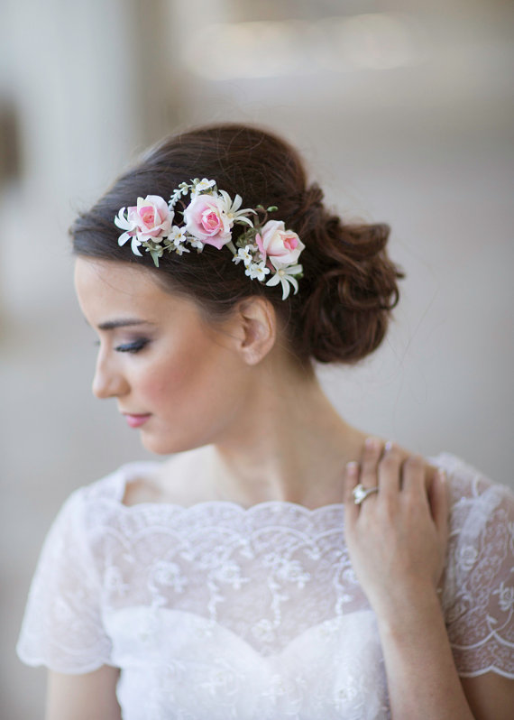Wedding - flower bridal hair accessories