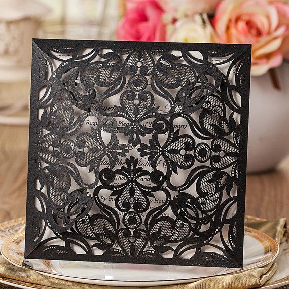 stylish black wedding invitation sample well made black birthday invitation sample new