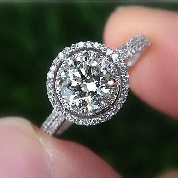 Wedding Diamond Elegant Engagement Ring 2230219