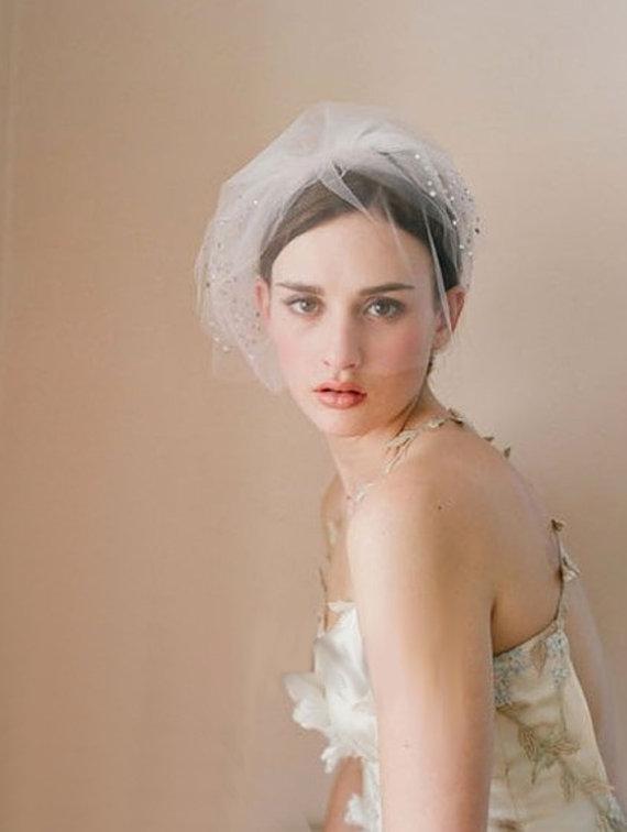 Mariage - Exquisite Bridal Wedding Veil (618) - New