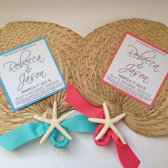 food amp favor raffia and buri hand fans for wedding