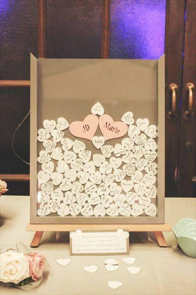 Alternative Drop Top Wedding Guest Book