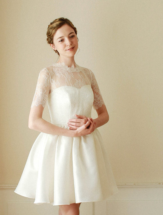 Lace Topper For Wedding Dress | Wedding Bolero Bridal Lace Top Wedding Top Lace Topper Bridal