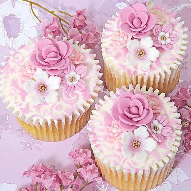 Свадьба - Beautiful Cupcakes