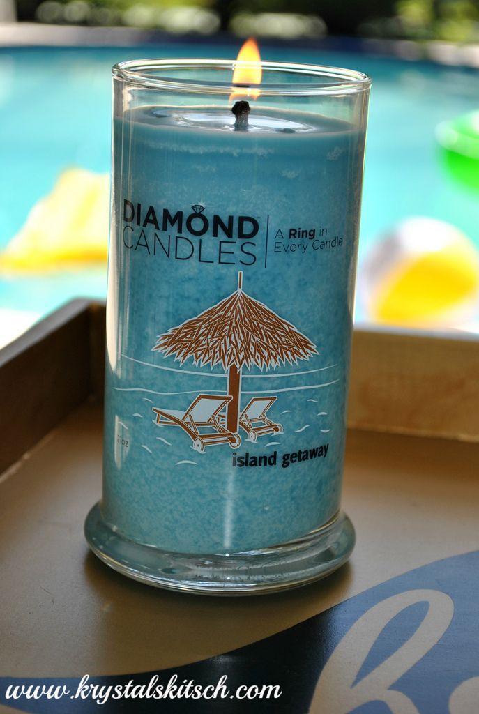 زفاف - Diamond Candles Review & Giveaway