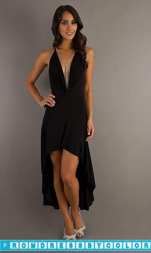 Hochzeit - $149 Designer Prom Dresses - Hi-Low Halter Dress at www.promdressbycolor.com