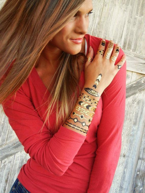Mariage - Eco Friendly Gift, Eco Friendly Jewelry Gift, Eco Chic Gift, Eco Friendly Jewelry Gift for Women, Eco Friendly Jewelry Gift for Her, TATTOOS - New