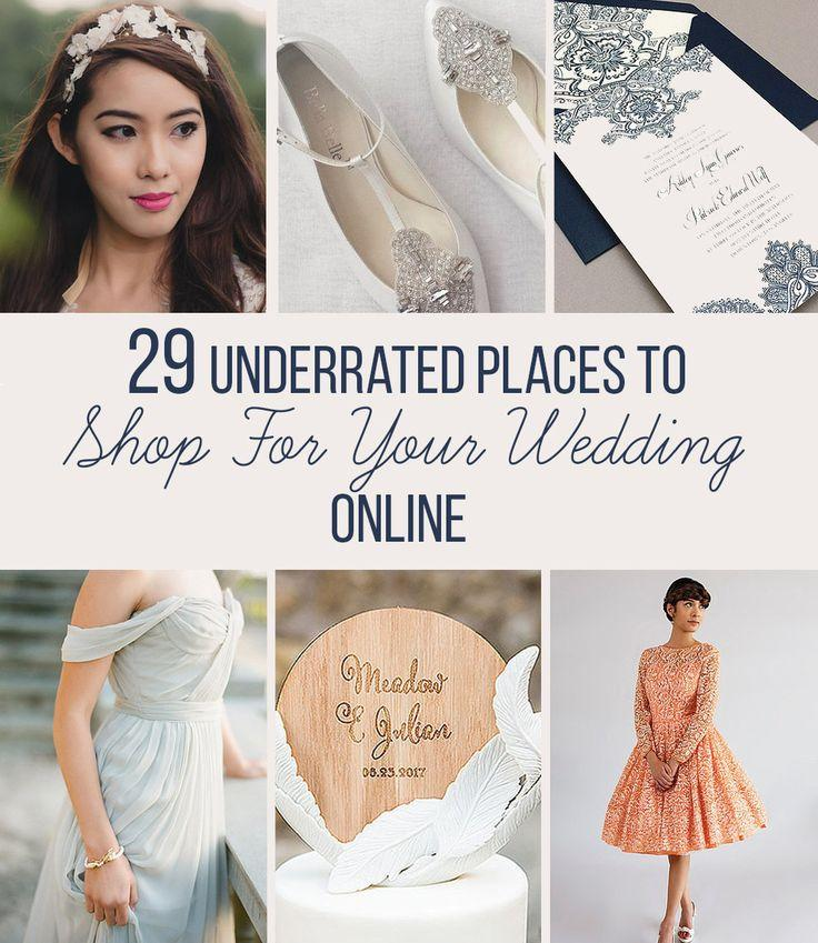 Mariage - 29 Places To Shop For Your Wedding Online That You'll Wish You Knew About Sooner