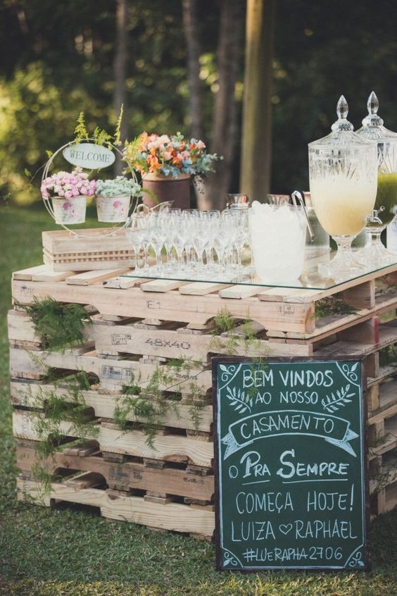 Cocktails Drinks 30 Perfect Ideas For A Rustic Wedding 2499310