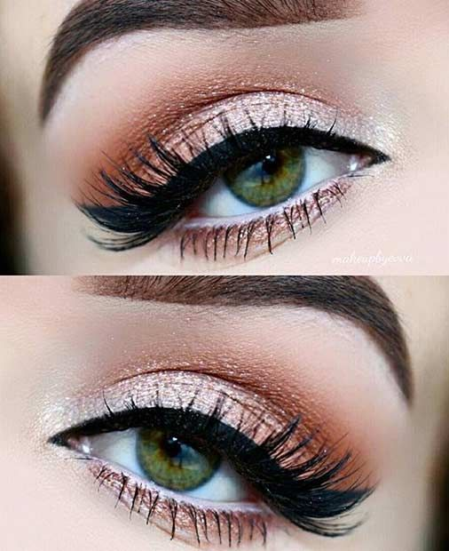 31 Pretty Eye Makeup Looks For Green Eyes 2511717 Weddbook