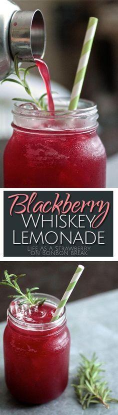 Wedding - Blackberry Whiskey Lemonade