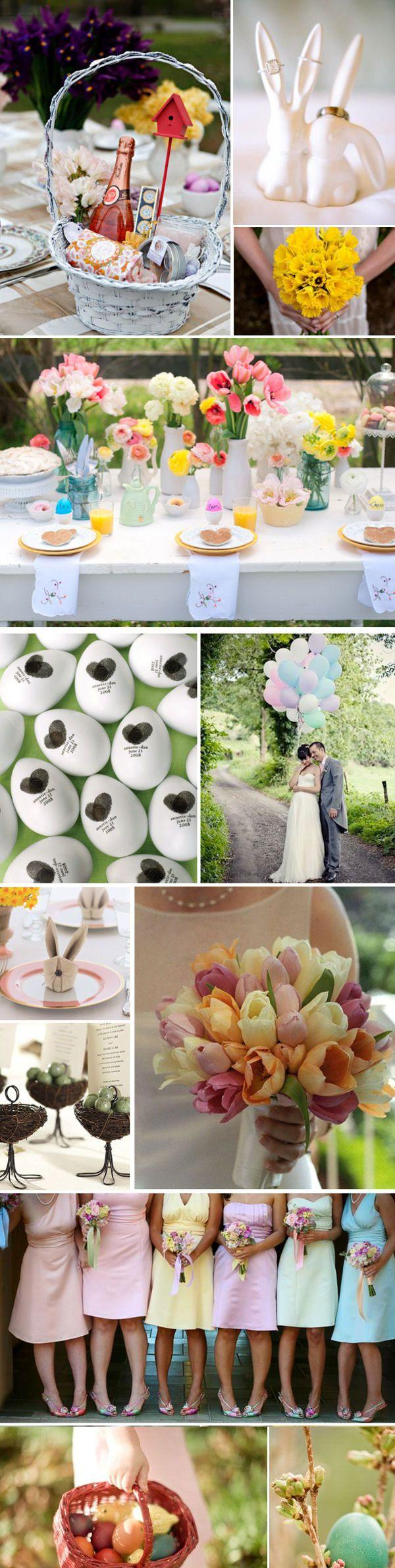 Wedding - Charming Wedding Ideas Inspired By Easter
