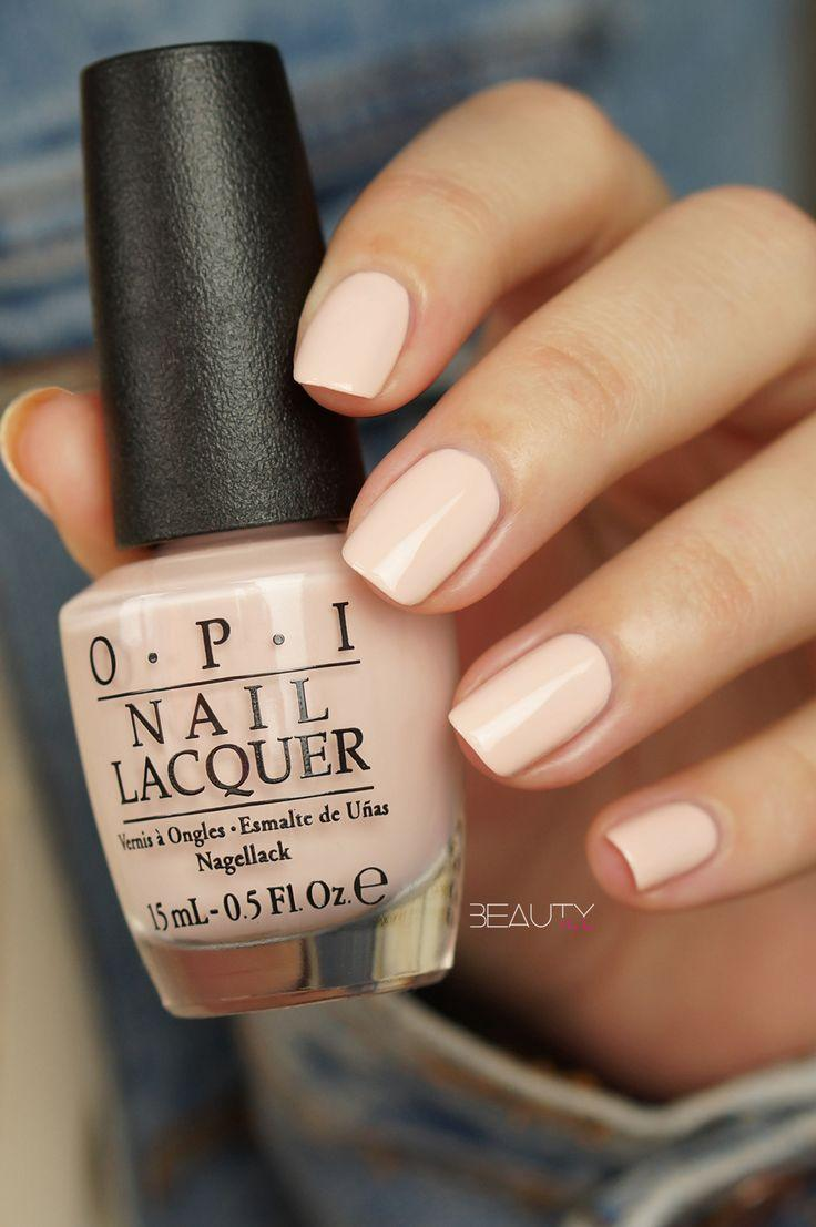 Mariage - OPI Soft Shades Pastels Swatches - Beautyill