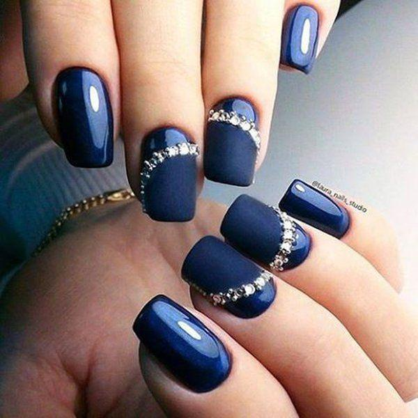 Nail 50 Matte Nail Polish Ideas 2532621 Weddbook