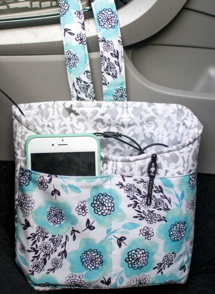 Hochzeit - Car Diddy Bag - Free Sewing Tutorial