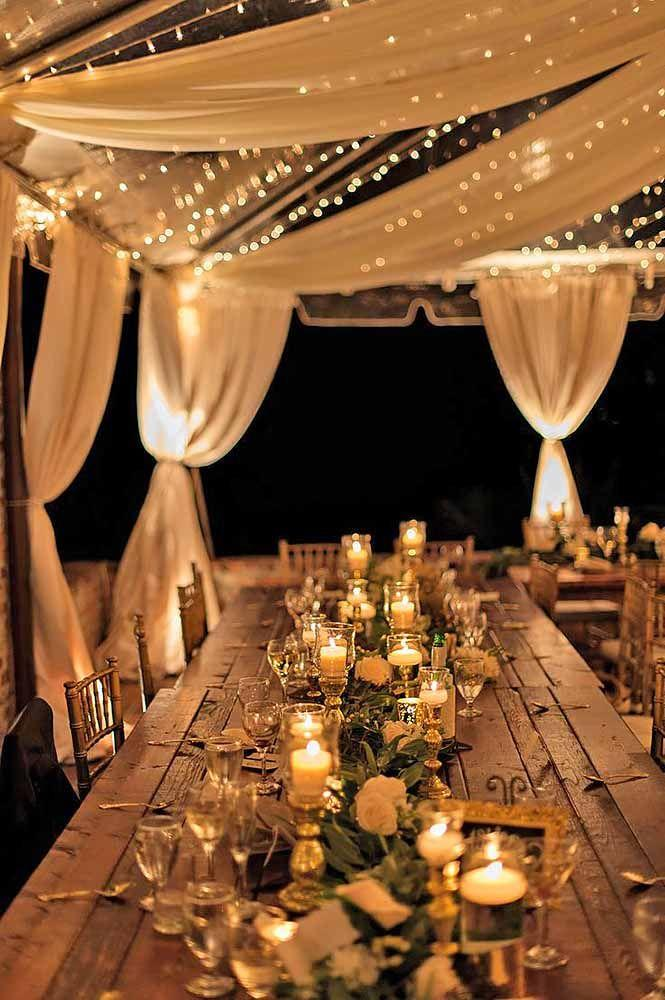 Свадьба - 30 Beautiful Ways To Use Candles At Your Wedding