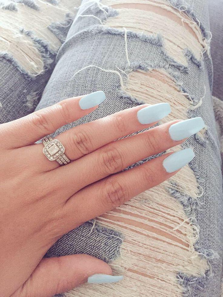 زفاف - Blue Nails