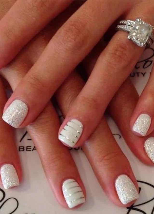Wedding - Bridal Nail Art Design