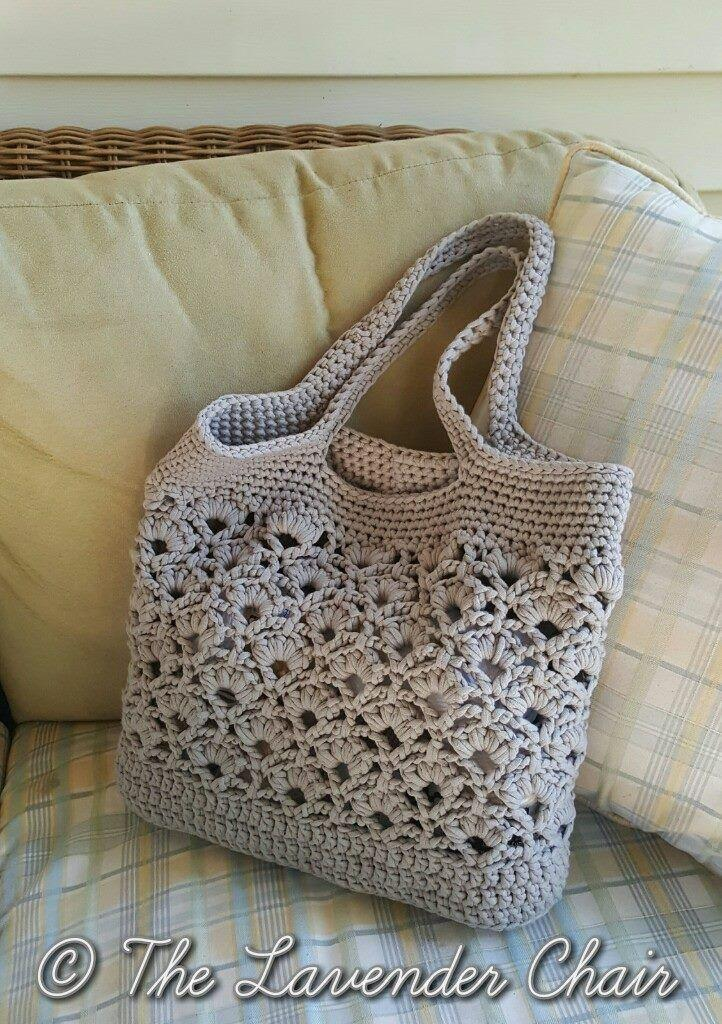 Daisy Fields Beach Bag Crochet Pattern The Lavender Chair 2536297