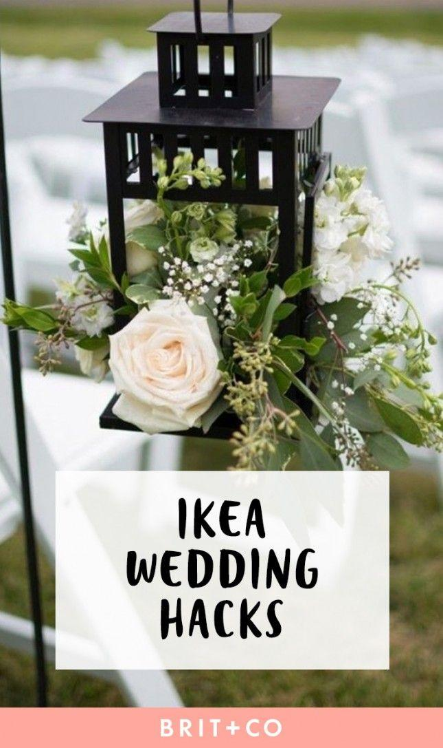 Свадьба - These IKEA Wedding Hacks Will Save You Some Serious Dough