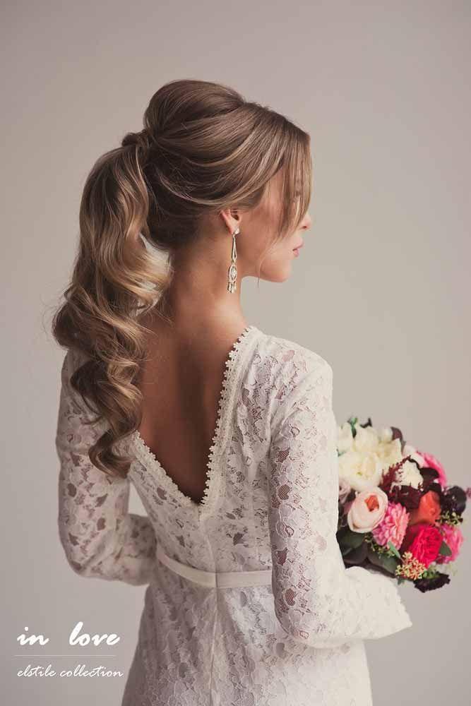 Hochzeit - 33 Favourite Wedding Hairstyles For Long Hair