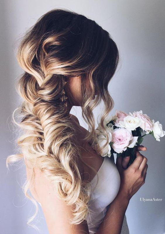 Wedding - Long Wedding Hairstyle Idea 3 Via Ulyana Aster