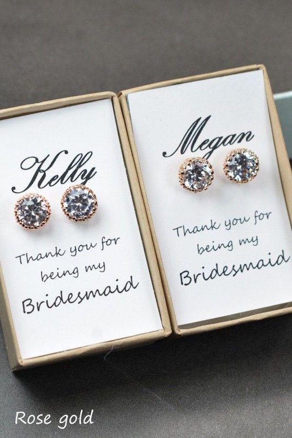 زفاف - Adorable Bridesmaids Gifts For Your Girls