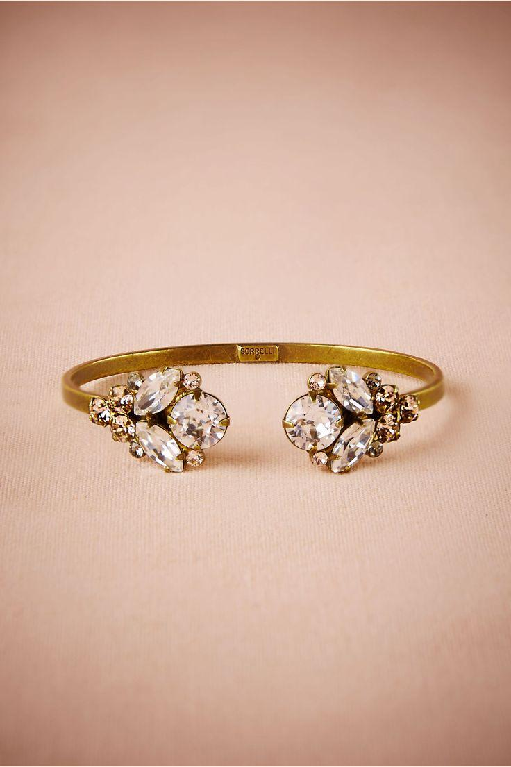 Mariage - Crystal Scarab Bracelet