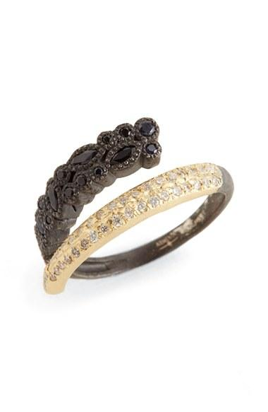 Armenta Old World Diamond & Sapphire Ring CyJl3