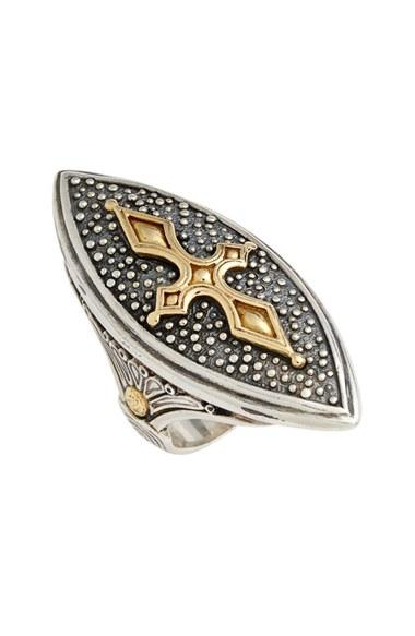 Mariage - Konstantino 'Hebe' Marquise Cross Ring