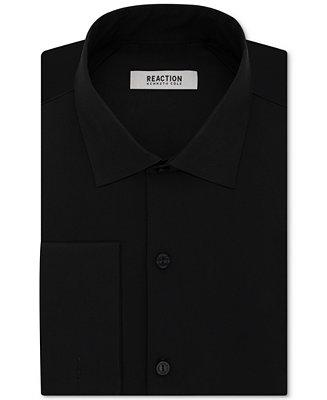 Mariage - Kenneth Cole Reaction Kenneth Cole Reaction Men's Slim-Fit Techni-Cole Stretch Performance French-Cuff Dress Shirt