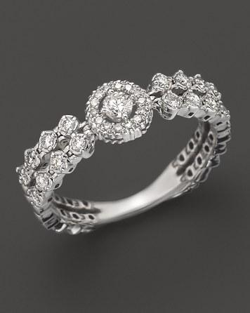Mariage - Bloomingdale's Diamond Ring in 14K White Gold, .30 ct. t.w.
