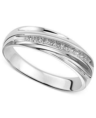 Свадьба - Wedding Band Ring in Sterling Silver