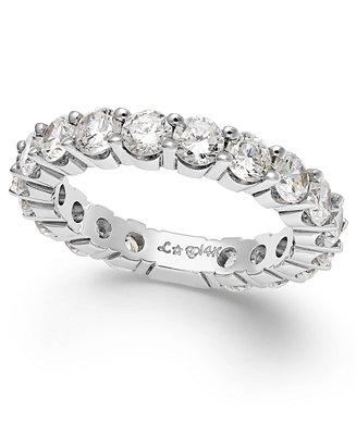 Wedding - Sizeable Diamond Eternity Band in 14k White Gold (2 ct. t.w.)
