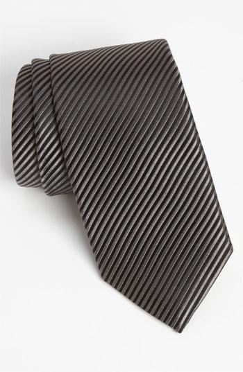 Wedding - David Donahue Woven Silk Tie