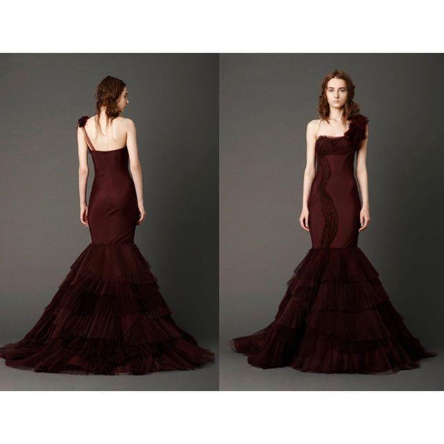Hochzeit - Red Wine Dress