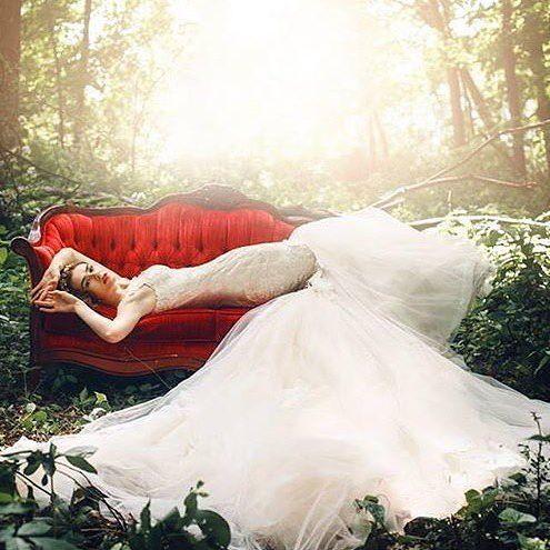 Hochzeit - Rénuphée Clark