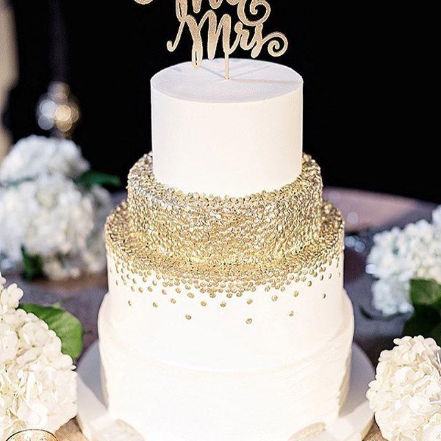 Wedding - Golden Touch Cake