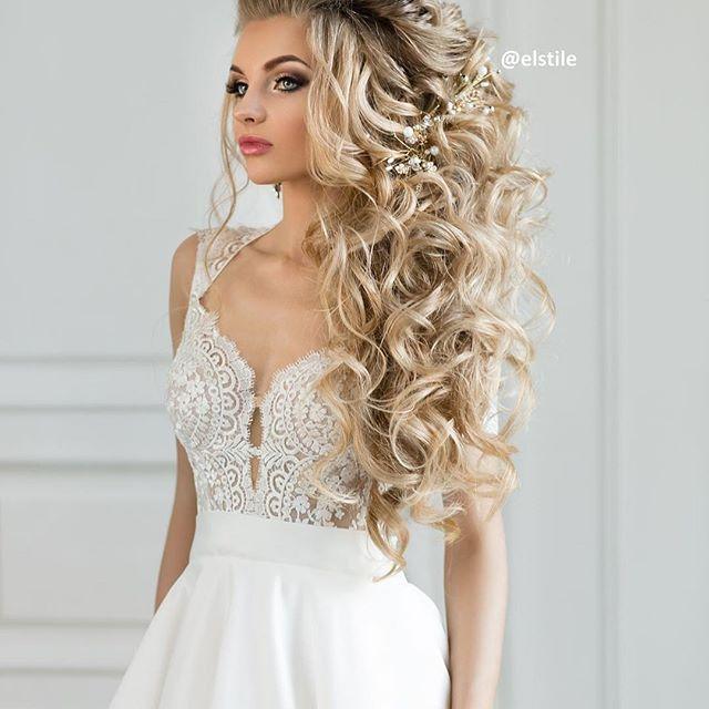 زفاف - Curly Hairs