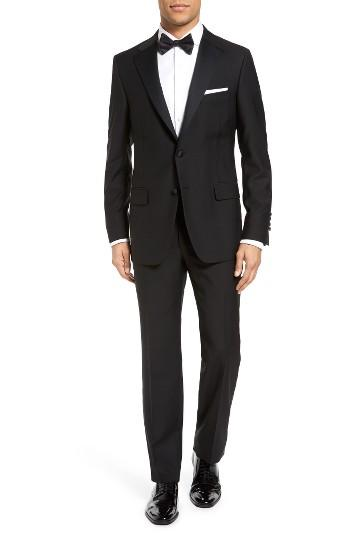 Boda - Hickey Freeman Classic Fit Wool Tuxedo