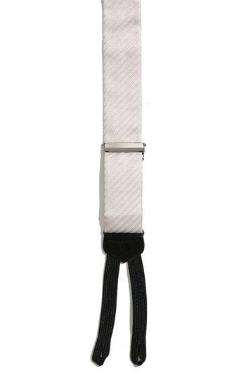 Hochzeit - Trafalgar 'Diagonal II' Formal Silk Suspenders